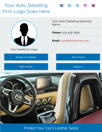 Email Newsletter Marketing Services For Auto Detailing Services