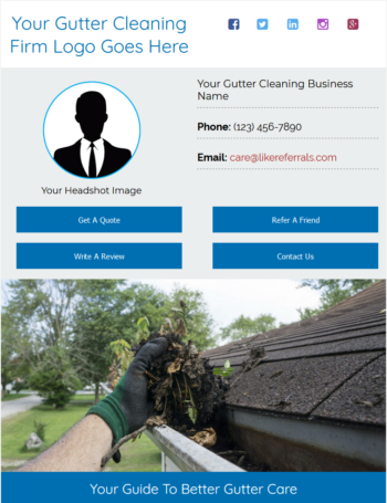 Email Newsletter Marketing Services For Gutter Cleaning