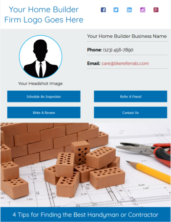 Email Newsletter Marketing Services For Home Builders