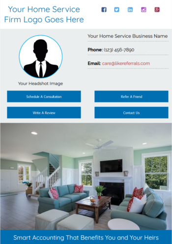 Email Newsletter Marketing Services For Home Services