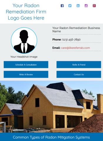 Email Newsletter Marketing Services For Radon Remediation