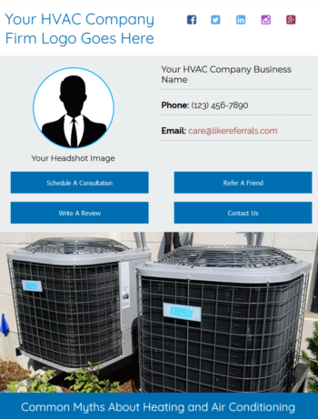Email Newsletter Marketing Services for HVAC Companes