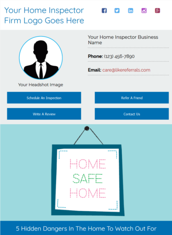 Email Newsletter Marketing Services for Home Inspectors