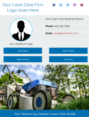 Email Newsletter Marketing Services for Lawn Care Services