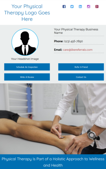 Email Newsletter Marketing Services for Physical Therapy