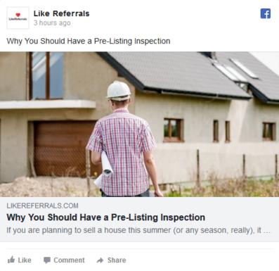 Social Media Marketing Services for Home inspectors
