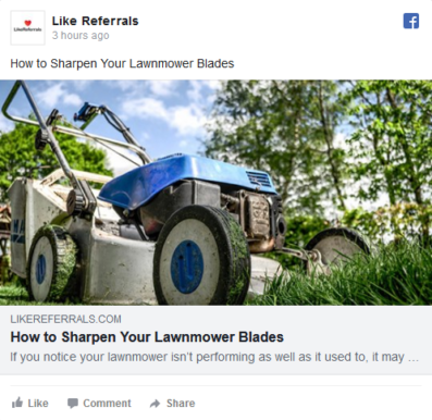 Social Media Marketing Services for Lawn Care Services