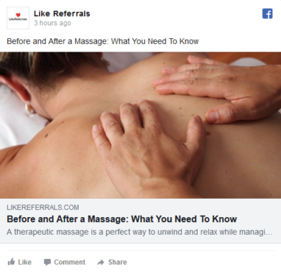 Social Media Marketing Services for Massage Therapy