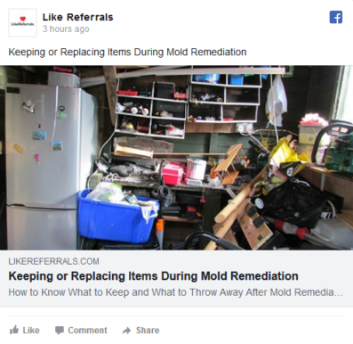 Social Media Marketing Services for Mold Remediation