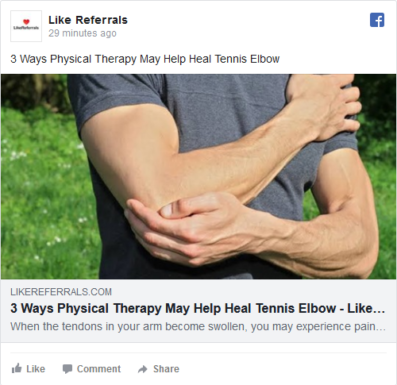 Social Media Marketing Services for Physical Therapy