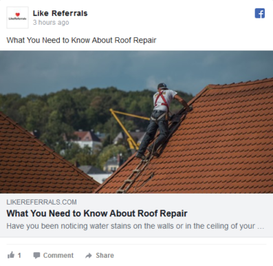Social Media Marketing Services for Roofing Contractors