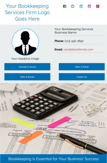 Email Newsletter Marketing Services For Bookkeeping Services