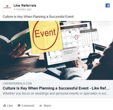 Social Media Marketing Services for Event planners